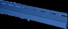 "Сайдинг Планка ""финишная"", 3660 мм, цвет Синий"