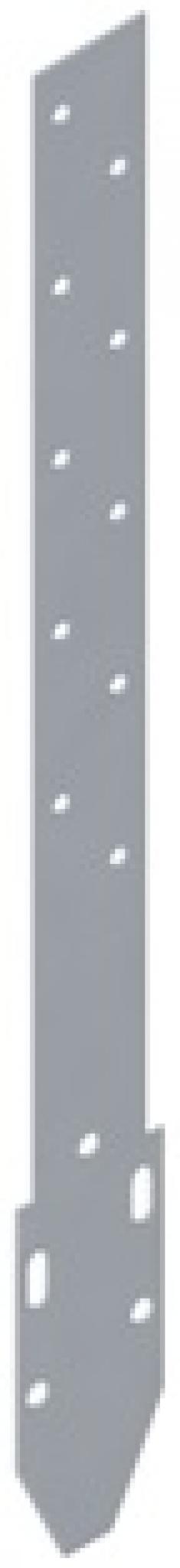 Удлинитель кронштейна Металл, цвет белый